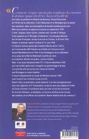 Amyot d'inville quatre freres pour la france - 4ème de couverture - Format classique