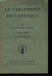 Le Parlement Britannique - Couverture - Format classique