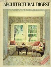 Architectural Digest - Couverture - Format classique