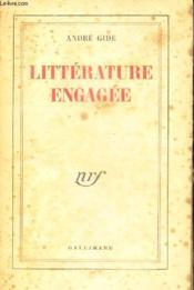 Litterature Engagee - Couverture - Format classique