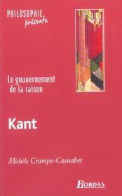 Le Gouvernement De La Raison ; Emmanuel Kant - Intérieur - Format classique