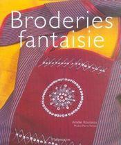 Broderies fantaisie - Intérieur - Format classique