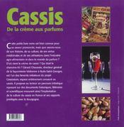 Le Cassis - 4ème de couverture - Format classique