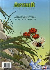 Arthur et les minimoys t.2 - 4ème de couverture - Format classique