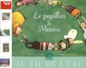 Libellule ; Lecture ; Cp ; Le Papillon De Marine - Couverture - Format classique