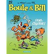 Boule & Bill T.29 ; quel cirque ! - Couverture - Format classique