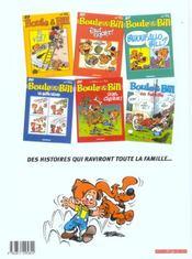 Boule & Bill T.29 ; quel cirque ! - 4ème de couverture - Format classique