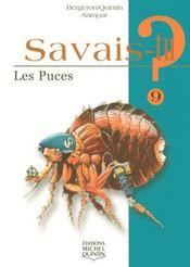 SAVAIS-TU ? T.9 ; les puces - Intérieur - Format classique