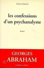 Les confessions d'un psychanalyste roman - Couverture - Format classique