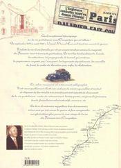 Le carnet de guerre de bon papa. une famille francaise sous l'occupation - 4ème de couverture - Format classique