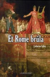 Et Rome brûla - Couverture - Format classique