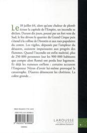 Et Rome brûla - 4ème de couverture - Format classique