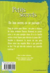 Petits secrets t.3 ; trahisons entre amis - 4ème de couverture - Format classique