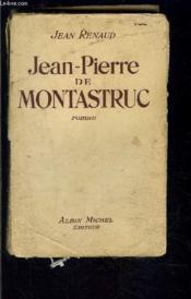 Jean Pierre De Montastruc - Couverture - Format classique