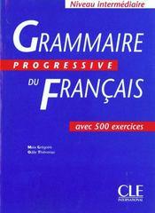 Grammaire progressive francais - Intérieur - Format classique