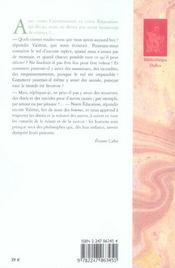Voyage en Icarie - 4ème de couverture - Format classique