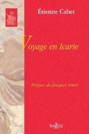Voyage en Icarie - Couverture - Format classique