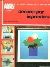 Decorer Par Impressions - Couverture - Format classique
