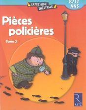 Pièces policières t.2 - Intérieur - Format classique
