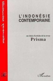 L'Indonésie contemporaine ; choix d'articles de la revue Prisma - Couverture - Format classique