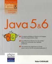 Synthex ; Java 5 Et 6 - Intérieur - Format classique