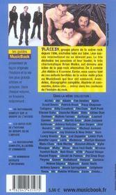 Placebo De A A Z - 4ème de couverture - Format classique
