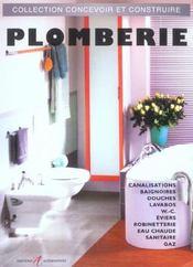 Plomberie canalisations, baignoires, douches, lavabos, wc, eviers, robinetterie, eau chaude sanitair (édition 2003) - Intérieur - Format classique
