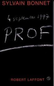 Prof, 4 septembre 1997 - Couverture - Format classique