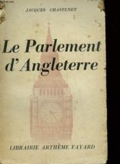 Le Parlement D'Angleterre. - Couverture - Format classique