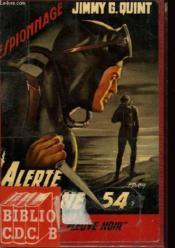 Alerte Zone 54 - Couverture - Format classique