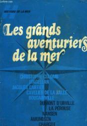 Album Histoire De La Mer, Les Grands Aventuriers De La Mer - Couverture - Format classique