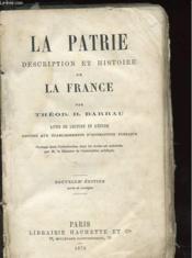 La Patrie - Description Et Histoire De La France - Couverture - Format classique