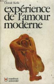 Experience De L'Amour Moderne - Couverture - Format classique