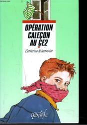 Operation Calecon Au C.E 2 - Couverture - Format classique