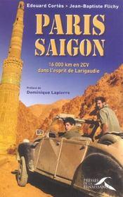 Paris-saigon - Intérieur - Format classique