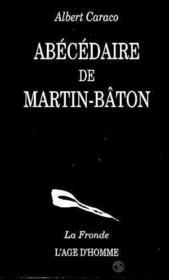 Abecedaire De Martin-Baton - Couverture - Format classique
