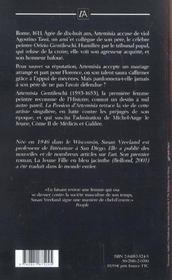 La Passion D'Artemisia - 4ème de couverture - Format classique