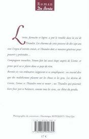 Destin De Lirette (Le) - 4ème de couverture - Format classique