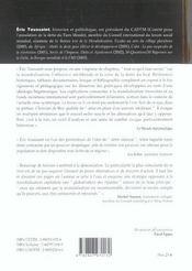 Finance contre les peuples - 4ème de couverture - Format classique