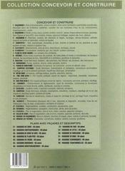 Toitures (édition 2003) - 4ème de couverture - Format classique