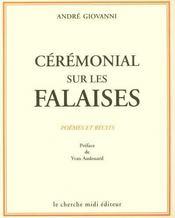 Ceremonial sur les falaises poemes et recits - Intérieur - Format classique