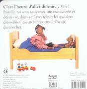 Au lit ! - 4ème de couverture - Format classique