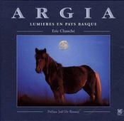 Argia, lumières en pays basque - Couverture - Format classique