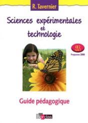 Sciences expérimentales et technologie ; CE2 ; livre du maître (édition 2008) - Couverture - Format classique