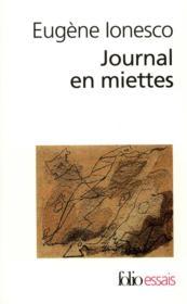Journal en miettes - Couverture - Format classique