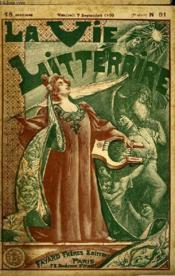 Le Pape. La Vie Litteraire. - Couverture - Format classique