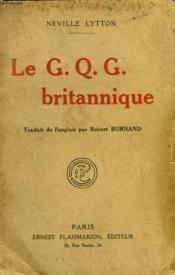 Le G.Q.G. Britannique. - Couverture - Format classique