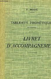 Tableaux Phonetiques Pour L'Enseignement Des Langues Vivantes - Livret D'Accompagnement - Couverture - Format classique
