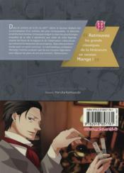 Les enquêtes de Sherlock Holmes - 4ème de couverture - Format classique