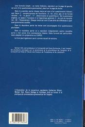 Pratique Du Commentaire Grammatical De L'Anglais - 4ème de couverture - Format classique